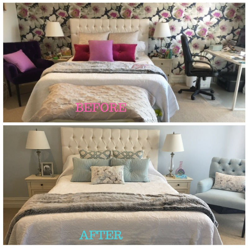 Before And After Pictures Of Bedroom Makeovers Bedroom Ideas Pinterest Diy Boy Lamps For Bedroom Anime Fan Bedroom: Bedroom Transformation: Before & After €� Marbella Home